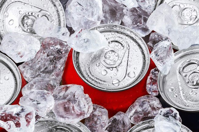 Sodas and energy drinks age cells faster.