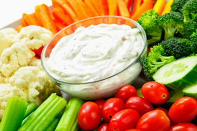 Make ranch dressing healthier by using low-fat sour cream or cottage cheese, low-fat buttermilk, and fresh herbs.