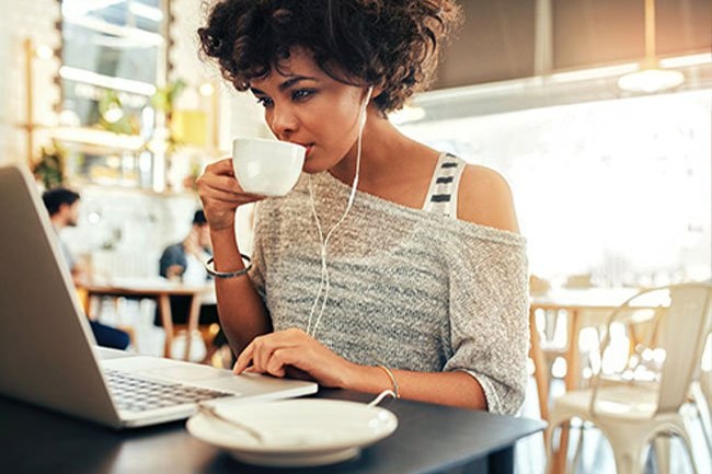 Coffee can help make you feel less depressed.