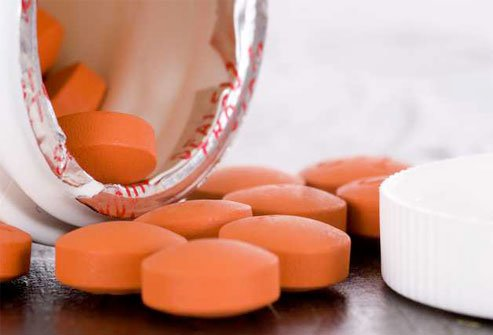 NSAIDs like aspirin, ibuprofen, and naproxen may curb pain and swelling.