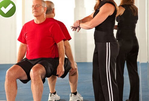 When it comes to low back pain, try some wall sits as a break from sitting on the couch.