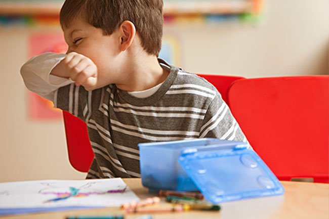 It's better that kids wipe their snotty noses with their sleeves rather than their hands.