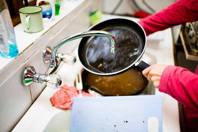 Some kinds of nonstick cookware release harmful compounds when heated.
