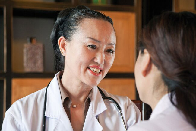 Your doctor will ask you about your medical history and symptoms.