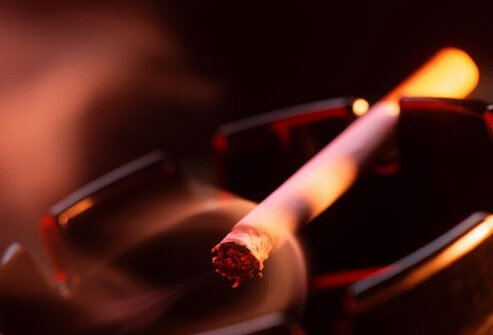 Smoking may trigger headaches, and not just for the person holding the cigarette.