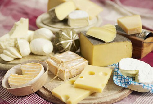 A migraine trigger for some people is aged cheese.