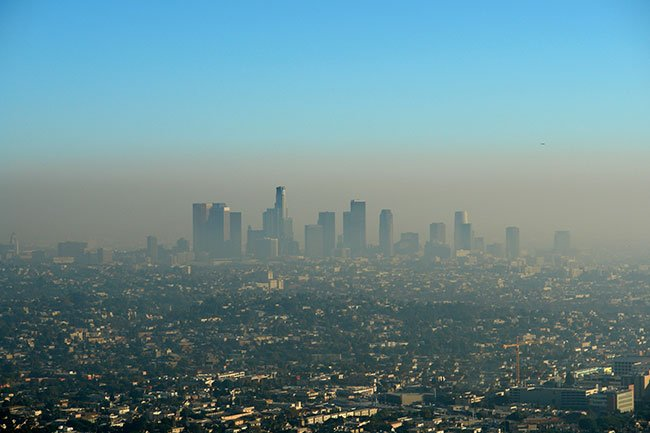 In several studies, city air pollution has been compared to hospital records for headache patients.