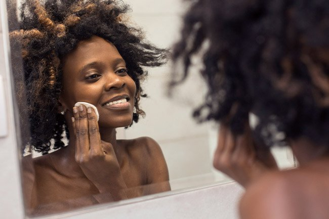 Coconut oil is a good natural moisturizer for your skin.