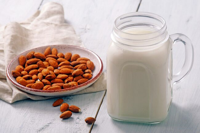 Whether you have allergies or avoid dairy for other reasons, almond milk is a great stand-in for cow's milk.