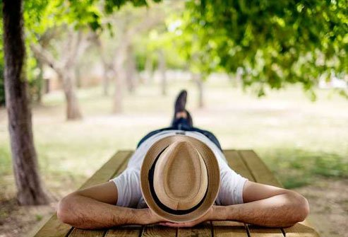 Studies show that an afternoon nap is great for adults.