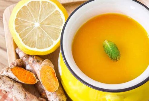 The next time you're under the weather, you may want to sip some turmeric tea.