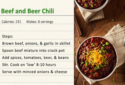 Beer cheese chili recipe.