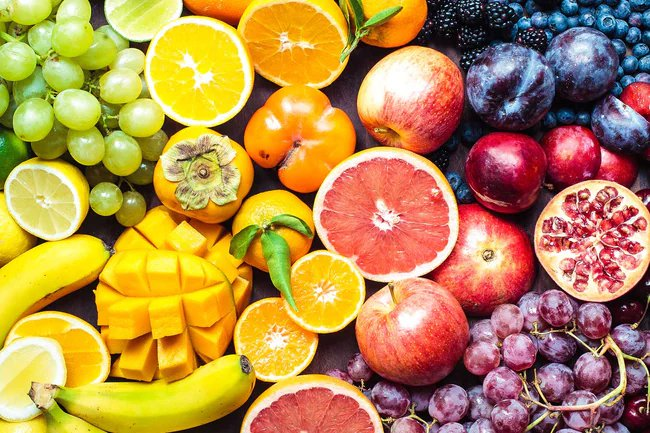 Fresh fruits are packed with vitamins and minerals that help your body function.
