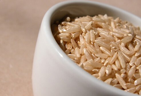 Brown rice provides B-complex vitamins, magnesium, and fiber.