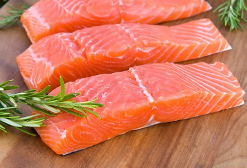 Salmon is chock full of omega-3 fatty acids.