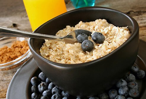 Oatmeal is a tasty breakfast food, and another good source of those omega-3 fatty acids.