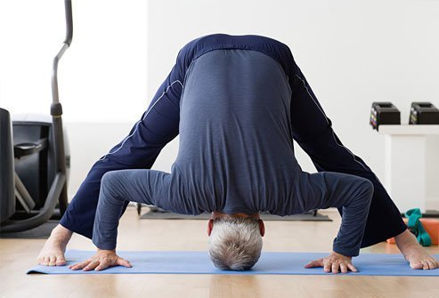 Inverted yoga poses can make heartburn worse.