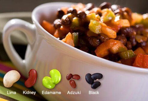 From adzuki to Great Northern, beans deliver fiber and protein, and are low in fat.