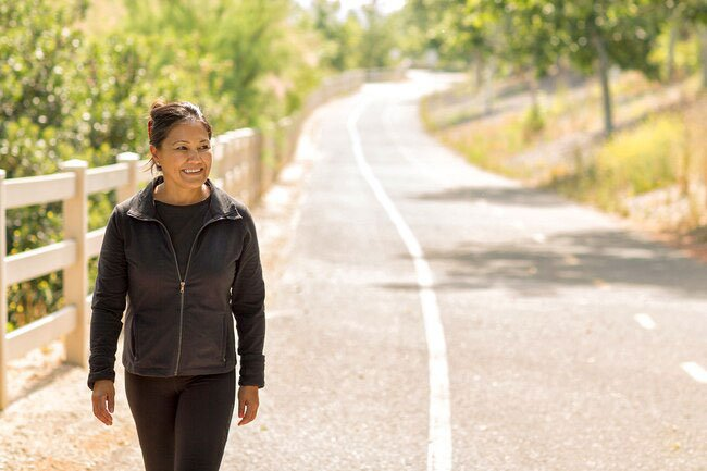 Walking is the best way to help your new hip recover and should be a big focus in the weeks and months after surgery.