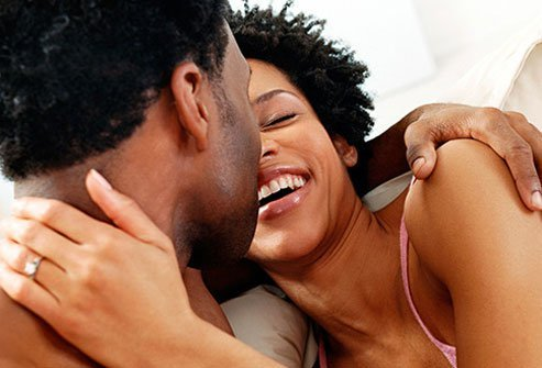 HIV may spread through sexual contact.