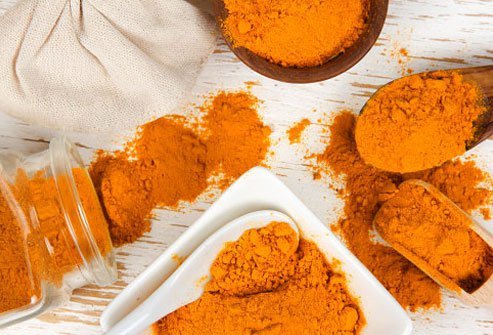 Turmeric has anti-inflammatory properties.