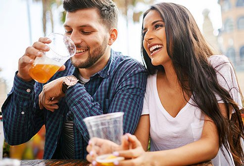 Alcohol has mood and mind altering effects soon after you take your first drink.