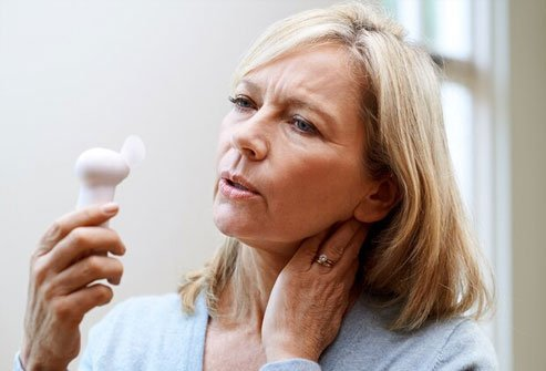 As you head toward menopause, estrogen levels drop.