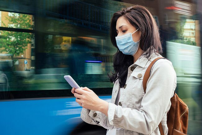To fight contagious, airborne illnesses like COVID-19, the CDC recommends face coverings when you're in public or near anyone who doesn't live with you.