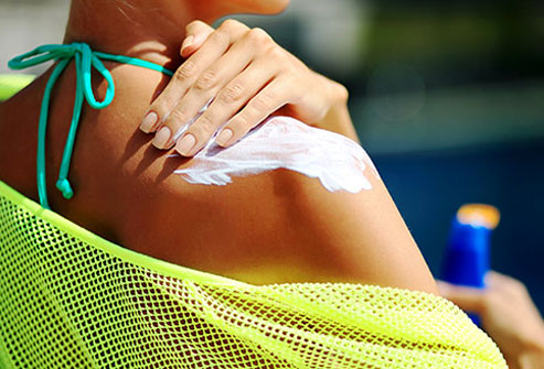 Excess sun exposure is a risk factor for skin cancer.