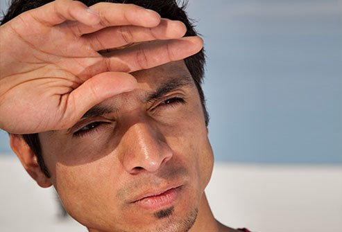 Glare and insufficient light may lead to vision problems as people age.