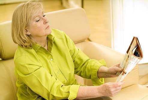 Presbyopia is a normal part of aging.