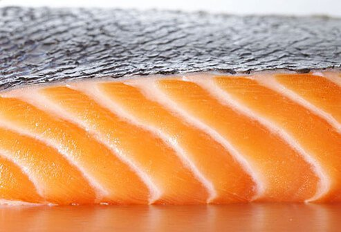 Salmon supplies high quality protein and healthy omega-3 fatty acids for glowing skin.