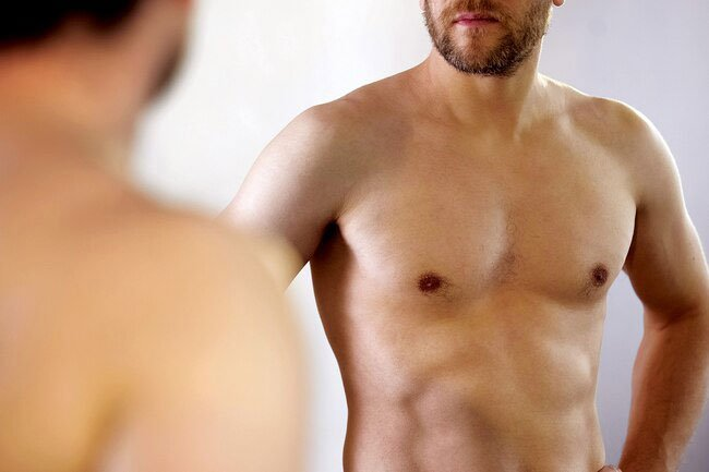 You might notice a lump or thick area in your breast tissue.