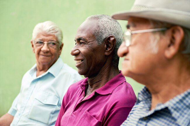 As you get older, your chances of getting male breast cancer go up.