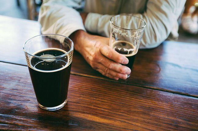 Alcohol can damage your liver, which could put your hormone levels out of whack.