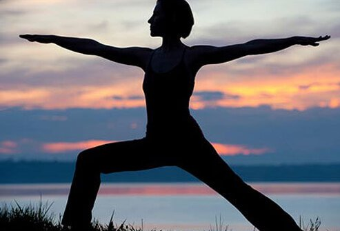 Light exercise like yoga or tai chi can help ease menopause symptoms and improve your sleep.