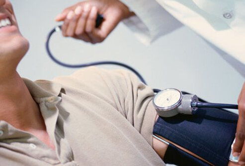 Blood pressure readings give two numbers.
