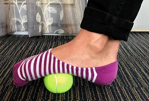 Relaxing your feet can ease tension in other parts of your body, including your head.