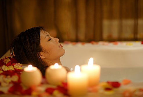 Warm compresses, a steamy shower, or a toasty soak in a bath can ease the tension of tight muscles that might add to your migraine pain.