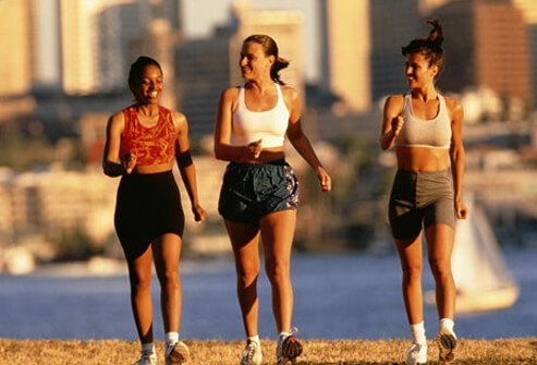 Regular exercise helps ward off chronic constipation.