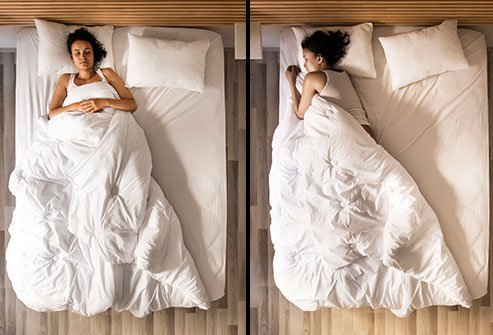 Choosing the right pillow can help properly align your posture as you sleep at night.