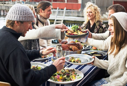 Nordic cuisine includes foods from Denmark, Finland, Norway, Iceland, Sweden, and Greenland.