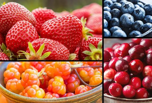 Antioxidant-rich berries are good for your heart and arteries.
