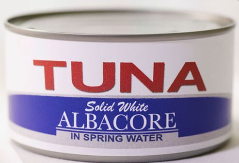 A can of albacore tuna.