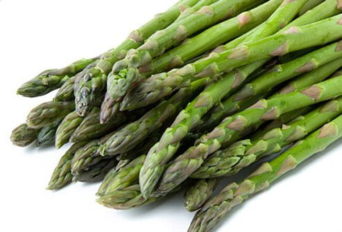 Asparagus is great grilled with lemon, salt, and pepper.