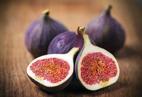 Figs, both whole and halved