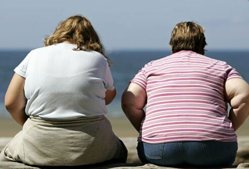 The higher a woman's weight, the greater her risk of ovarian cancer.