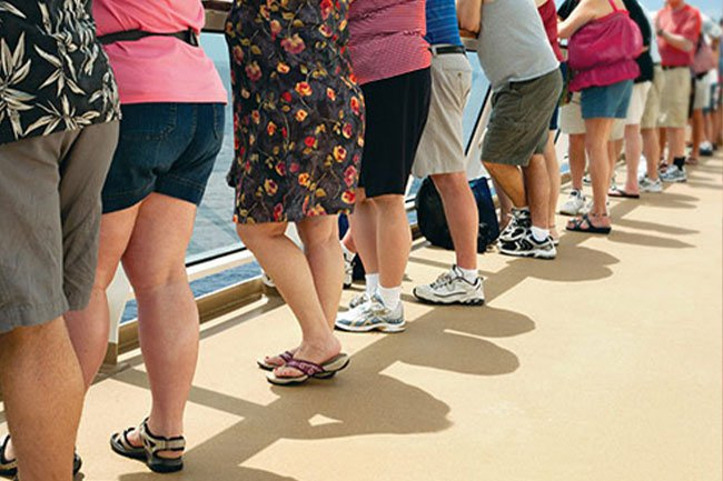 If you weigh a lot more than is healthy for your height, you could be considered obese -- it's not having just a few extra pounds.