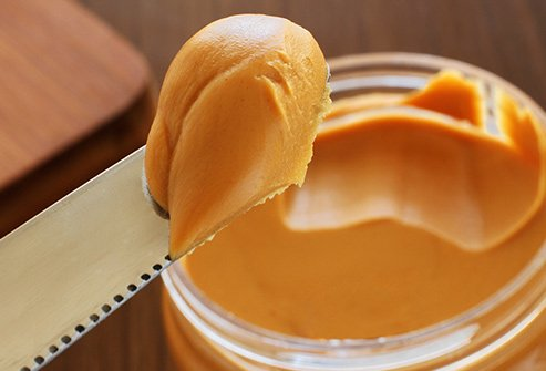 Peanut butter adds protein and potassium to smoothies.