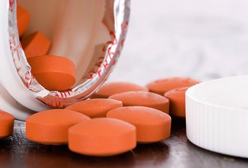Over-the-counter pain relievers can ease painful periods.